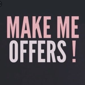 make an offer on anything!!